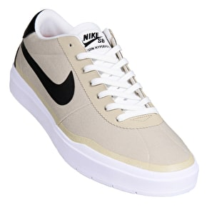 Nike SB Bruin Hyperfeel Canvas Skate Shoes - Khaki/Black