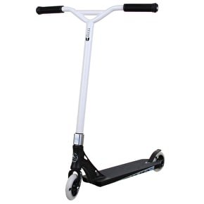 Crisp Custom Scooter - Evolution Series - Satin Black/White