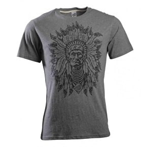 Santa Cruz Indian God T-Shirt - Dark Heather