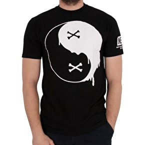 Neff Balance Of Bone T-Shirt - Black