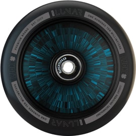 Lucky Lunar 110mm Hollow Core Scooter Wheel - Black/Blue