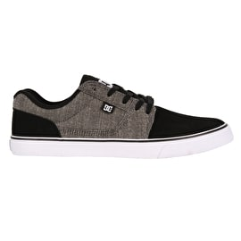 DC Tonik TX SE Skate Shoes - Black/Battleship/White