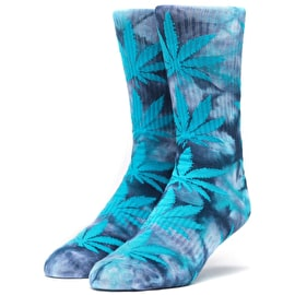 Huf Plantlife Crystal Wash Socks - Moon Indigo