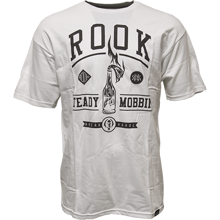 Rook Steady Mobbin' T-Shirt - White
