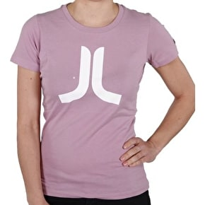 WeSC Ladies Icon T-Shirt - Mauve Shadows