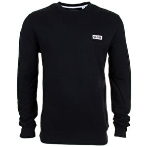 Globe Block Crewneck - Black