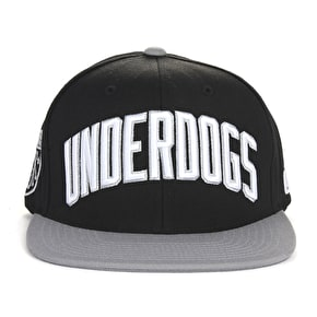 DGK Underdogs Cap - Black/Grey
