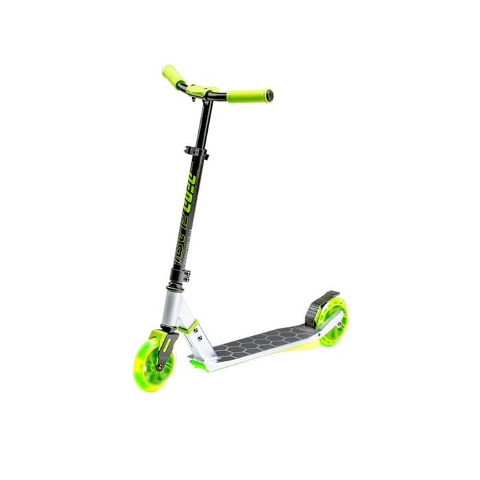 Image of Neon Flash Light Up Complete Scooter - Green