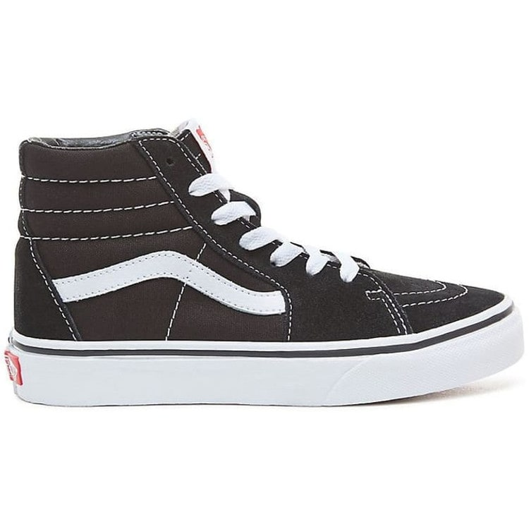 f7ed6af53e Vans Sk8-Hi Kids High Top Skate Shoes - Black