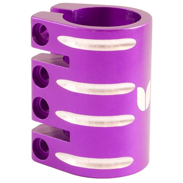 Blazer Pro Quad Bolt Collar Clamp with Shim - Purple