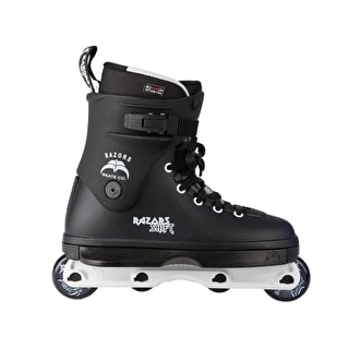 Razors Shift Aggressive Skates - Black/White