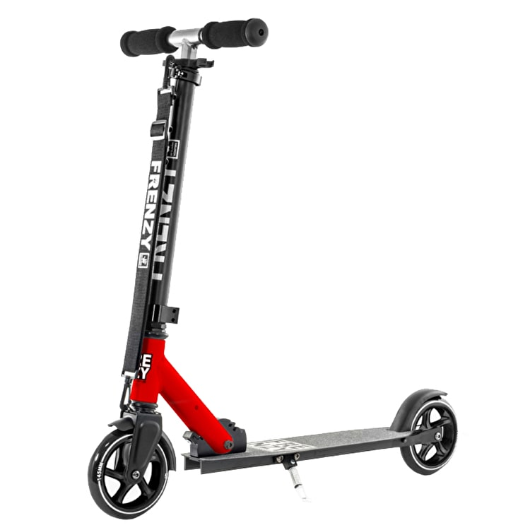 Frenzy FR145 Folding Scooter - Red