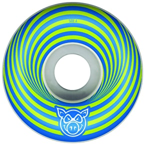 Pig Vertigo Skateboard Wheels - Blue 55mm (Pack of 4)