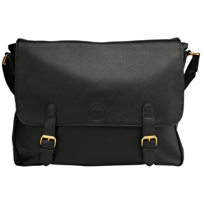 Mi-Pac Messenger Bag - Tumbled Black