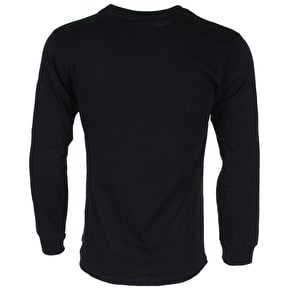 Vans Full Patch Long Sleeve T-Shirt - Black