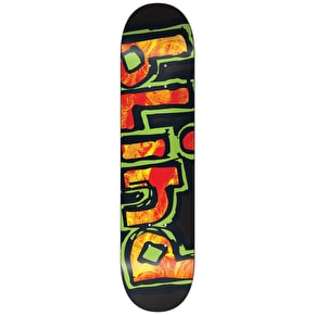 Blind Matte OG RHM Youth Skateboard Deck - Black/Red 7.375