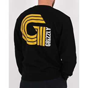 Grizzly Certified G Crewneck - Black
