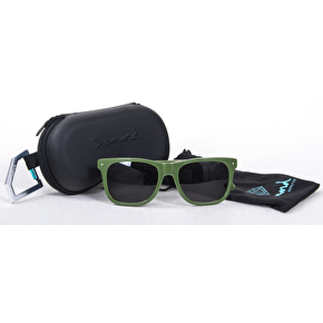 Diamond Vermont Polarised Sunglasses - Green/Gold
