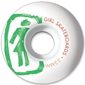 Girl Sketchy Skateboard Wheels - 53mm 98a