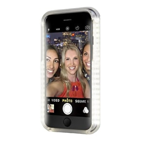 Aero Light Up LED Selfie iPhone Case - Black