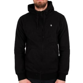 Volcom Single Stone Zip Hoodie - Black