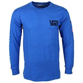 Vans California Native Long Sleeve T-Shirt - Blue
