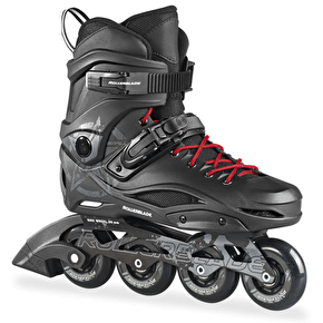 B-Stock Rollerblade 2016 RB80 Urban Inline Skates - Black/White UK 11 (Box Damage)