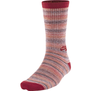 Nike SB Dri-FIT Space Dye Socks - Gym Red/Team Orange