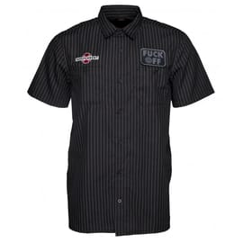 Independent F.O. Short Sleeve Shirt - Black