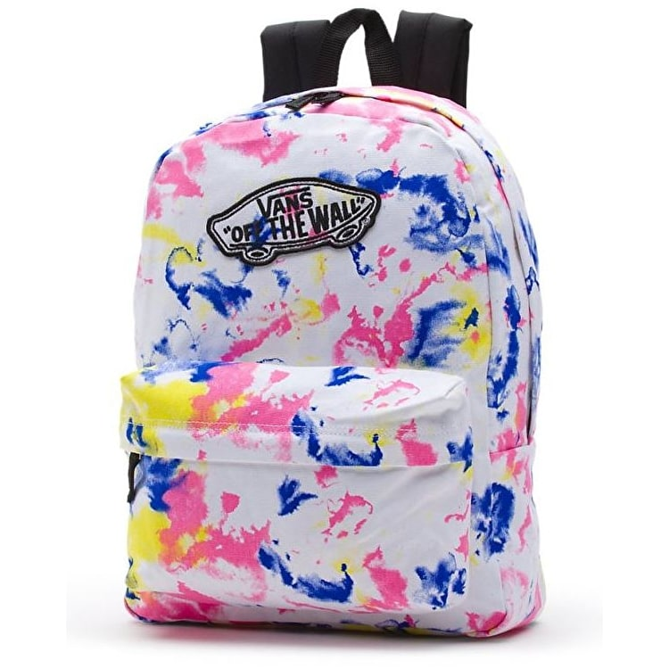 Vans Realm Backpack - White/Tie-Dye