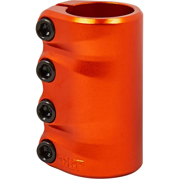 Tilt LT Sculpted SCS Scooter Clamp - Orange