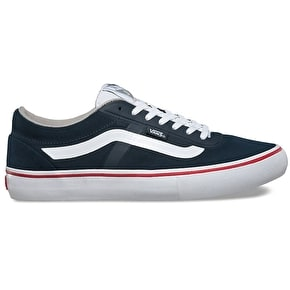 Vans AV RapidWeld Pro Skate Shoes - Midnight Navy/White