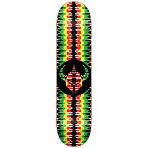 Darkstar Badge Skateboard Deck - Rasta 7.75