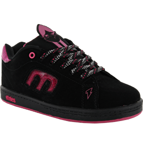 Etnies Kids Callicut 2.0 Kids Disney Skate Shoes - Black/Pink