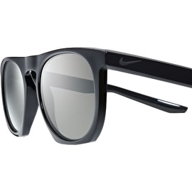 Nike SB Flatspot Sunglasses - Black/Matte Black With Dark Grey Lens