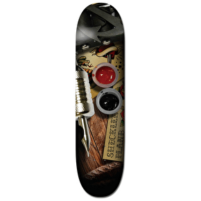 Plan B Inked Pro Spec Skateboard Deck - Sheckler 8