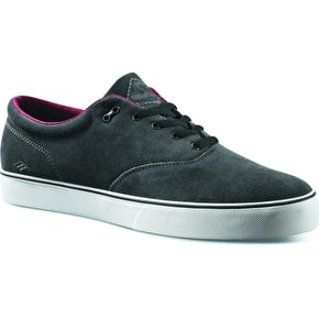 Emerica Reynolds Cruisers Skate Shoes - Dark Grey/Black - UK Size 7 (B-Stock)