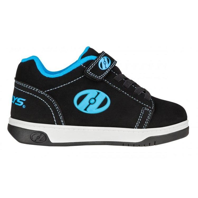 Heelys X2 Dual Up - Black/Cyan/White