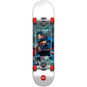 Almost Superman Fight Club Youth Complete Skateboard - Red 7
