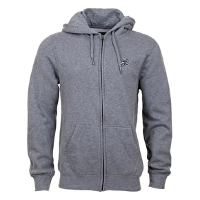 Fox Legacy Zip Fleece - Heather Graphite