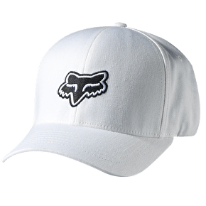 Fox Legacy Flexfit Cap White - Small/Medium (B-Stock)