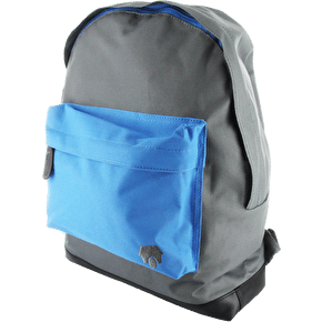 Skatehut Pocket Backpack - Grey/Blue Pocket