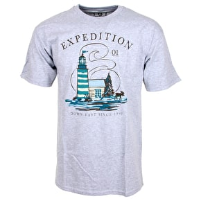 Expedition One Down East T-Shirt - Grey