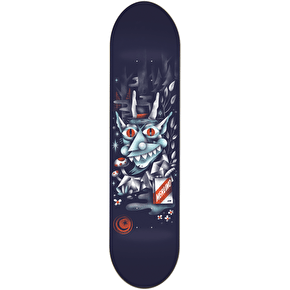 Foundation Merlino Woodwraith Skateboard Deck - 8