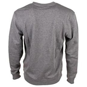 Santa Cruz Crewneck - Classic Dot Dark Heather