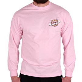 Skateboard Cafe Planet Donut Long Sleeve T shirt - Pink