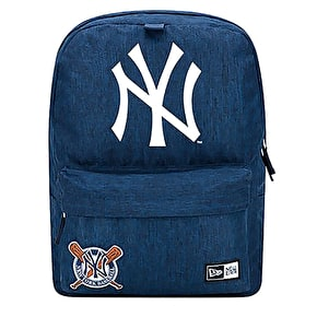 New Era NY Heritage Patch Backpack - Navy
