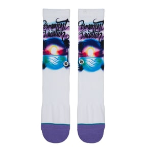 Stance Airbrush Vacation Socks - Green