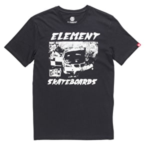 Element Sound System T-Shirt - Flint Black