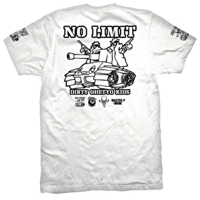 DGK x No Limit 8-Ball T-Shirt - White